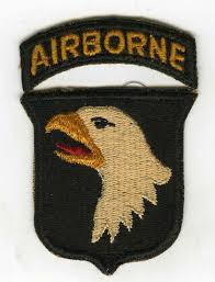 The famous Screaming Eagle of the 101st AB Div.