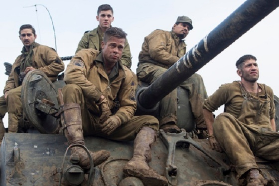 The movie was about the crew of Fury.