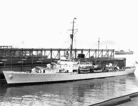"""USCGC Campbell (WPG-32) at New York Navy Yard 1940"" by USCG - U.S. Coast Guard [1] photo [2]. Licensed under Public Domain via Wikimedia Commons - http://commons.wikimedia.org/wiki/File:USCGC_Campbell_(WPG-32)_at_New_York_Navy_Yard_1940.jpg#/media/File:USCGC_Campbell_(WPG-32)_at_New_York_Navy_Yard_1940.jpg"