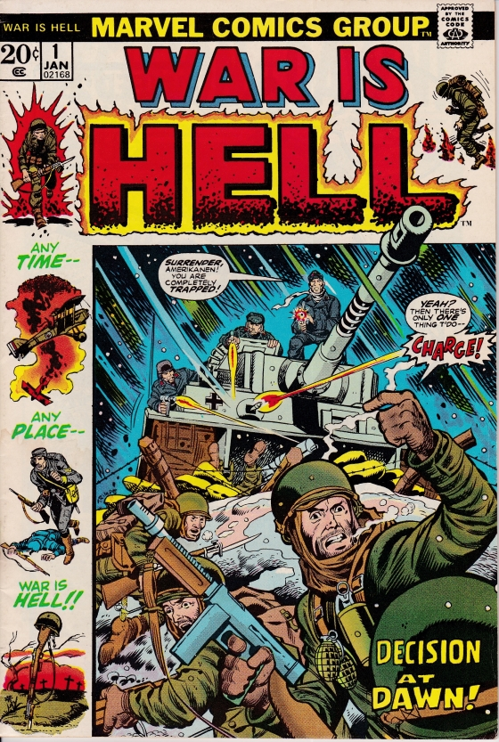 War is Hell by Marvel Comics early 70s