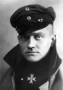 Baron Manfred von Richtofen, child hood hero