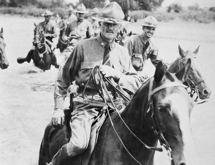 Black Jack Pershing, Commander of all American forces in France.