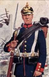 Prussian Infantryman, 1870-71