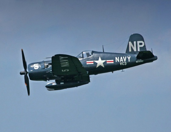 F4U Corsair, pic from Wikipedia