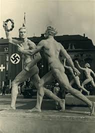 The Nazi's sought to make the 1936 Olympics a showcase for Aryan superiority.