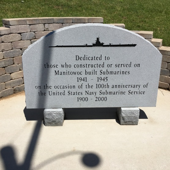 The tour gives credit to the builders of the sub as well as to the crews that manned them.