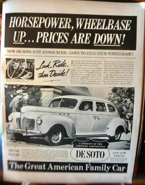 DESOTO 1940