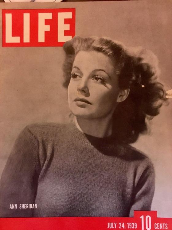 Ann Sheridan Life 1939