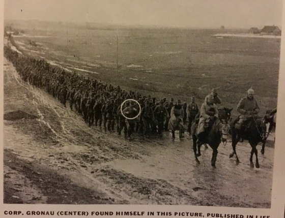 Germans matching E Prussia 1914