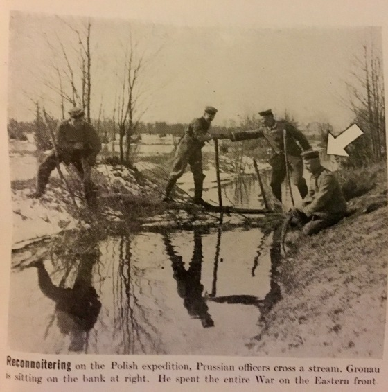 Germans stream recce 1914